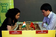Vietnamese top chess players to compete at int'l HDBank Cup