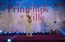 France alumni gather at gala night in Hanoi