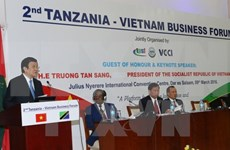 President attends Tanzania – Vietnam business forum