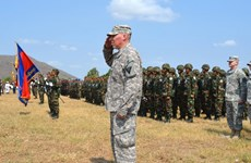 Cambodia, US begin joint military exercise