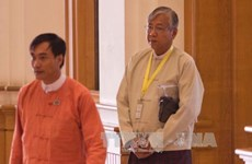 Htin Kyaw elected new President of Myanmar