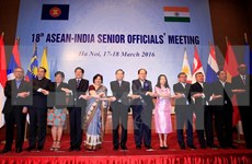 18th ASEAN-India SOM takes place in Hanoi