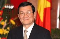 President Truong Tan Sang visits Dak Nong
