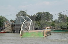 Bridge collapses in Dong Nai, two saved