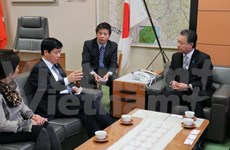 Vietnam, Fukushima prefecture step up relations