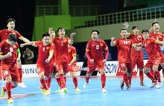 National futsal team prepares for World Cup with Japan match