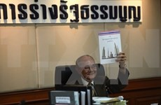 Thailand issues proposed new constitution for public review