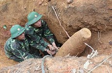 Wartime bomb safely detonated in Bac Lieu