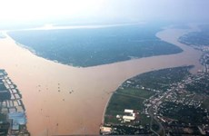 Mekong River's water resources shared