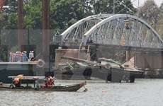 Construction work on new Ghenh bridge starts
