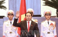 Foreign leaders congratulate newly-elected President