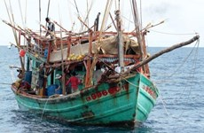 More Vietnamese fishing boats seized in Thai waters