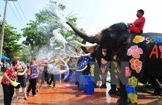 Thailand beefs up security ahead of water festival