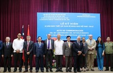 Meeting marks Vietnam - Chile diplomatic relations