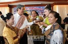 High-ranking delegation visits Laos on Bunpimay New Year