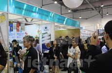 Vietnam promotes products at major food expo in Singapore