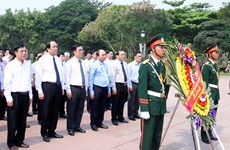 Heroic martyrs commemorated in Quang Tri province