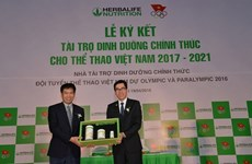 Herbalife to provide nutrition support to Vietnamese athletes