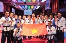 Vietnamese Taekwondo athletes bring home gold, bronze