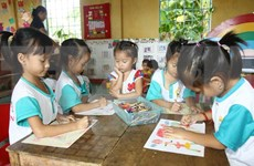 Thanh Hoa: 1.75 m USD funded for kindergarten meals
