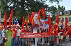 Vietnamese in Germany object to China's acts in East Sea