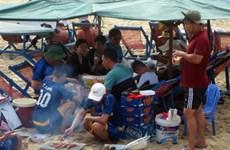 BBQ banned on Vung Tau beach