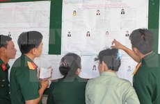 Ba Ria-Vung Tau: Voters at sea cast ballots ahead of Election Day