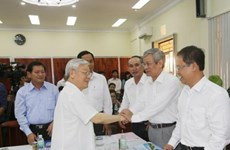 Khanh Hoa development yet to equal potential: Party chief