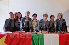 Vietnam, Italy honour women's roles in war, peace