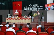 PM talks with voters in Hai Phong