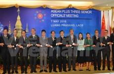 Senior officials of ASEAN, partner countries convene in Laos