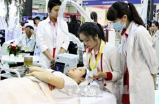 Medical products, services from 30 countries showcased in Hanoi