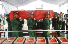 More volunteer soldiers laid to rest in Road 9 Cemetery