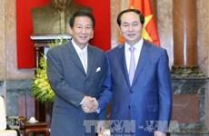 President receives Vietnam-Japan Special Ambassador