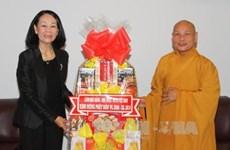 Congratulations to HCM City Buddhists on Buddha's birthday