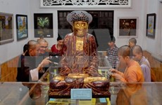 Buddhist art exhibitions open in HCM City
