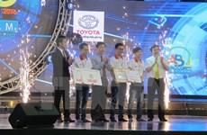 Lac Hong University named winner of Robocon Vietnam 2016