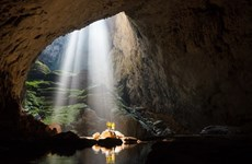 Domestic tourists to Son Doong cave increase