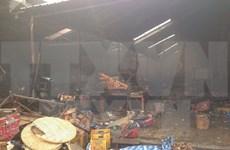 Vietnam's market fire in Laos costs estimated 8 mln USD in damage