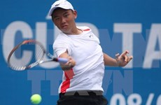 Vietnam's young ace jumps six places in world tennis rankings