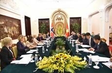 Vietnam, Norway to reinforce marine economic partnerships