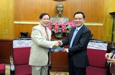 VFF leader welcomes Lao lawyer delegation