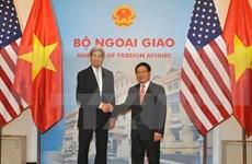 Vietnam, US's top diplomats hold talks in Hanoi