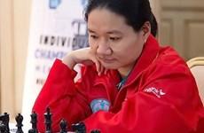 Tram beats third seed at Asian championship