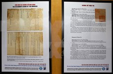Nguyen Dynasty's royal documents' value to be promoted