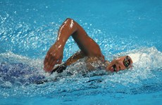 Vien wins bronze medal at US swim competition