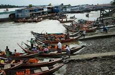 Myanmar cancels sea dyke project in Yangon