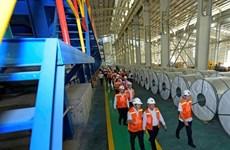 Steel stocks push Vietnam's markets up