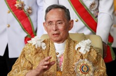 Thailand celebrates King's 70 years on throne