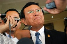 Cambodia's opposition leader fails to appear in court again